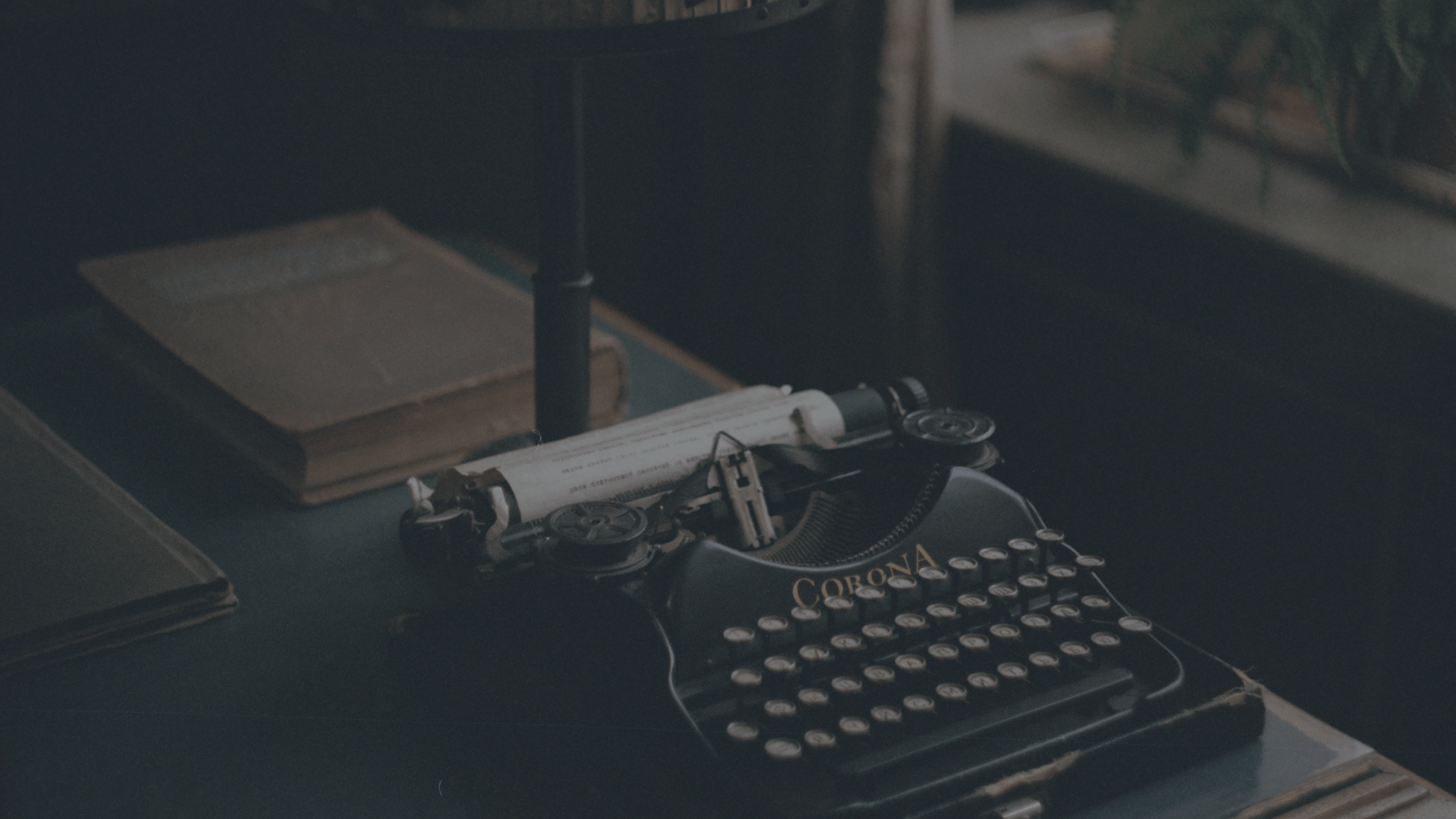 Typewriter for friendly SEO friendly content.