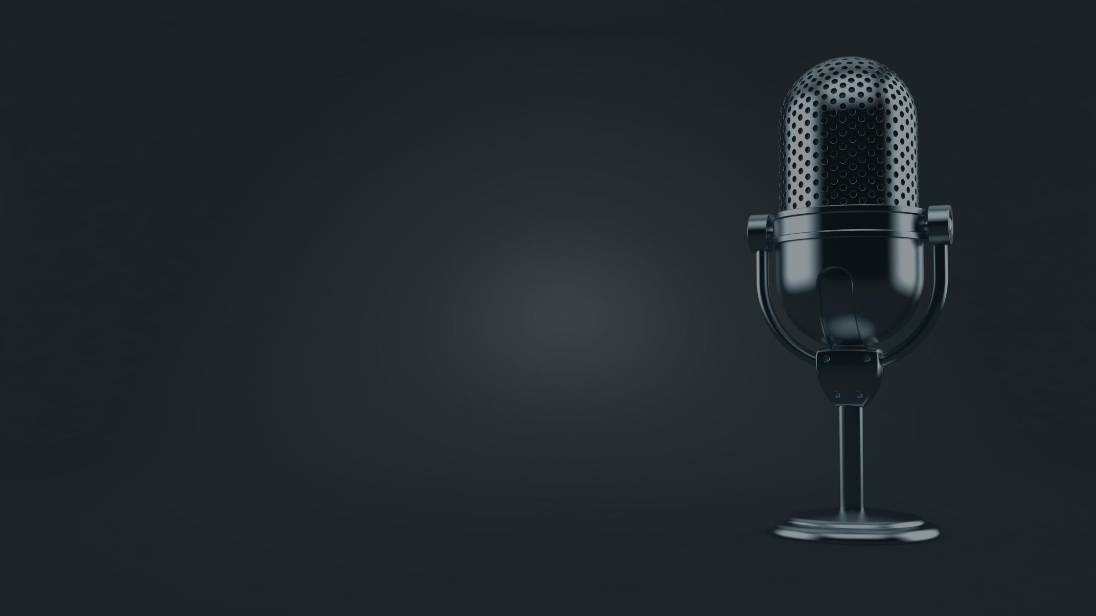 You better werk microphone- Kraken Marketing.