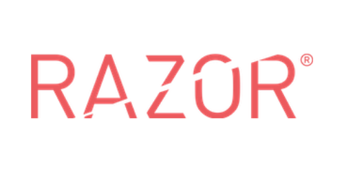 Razor logo.
